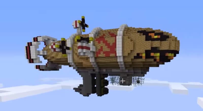 CnC MineCraft: Kirov Luftschiff