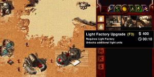 Gebäude-Upgrades wurden nun in Dune 2000 mod hinzugefügt. Nun kann fast nach dem Original Technologiebaum gebaut werden.