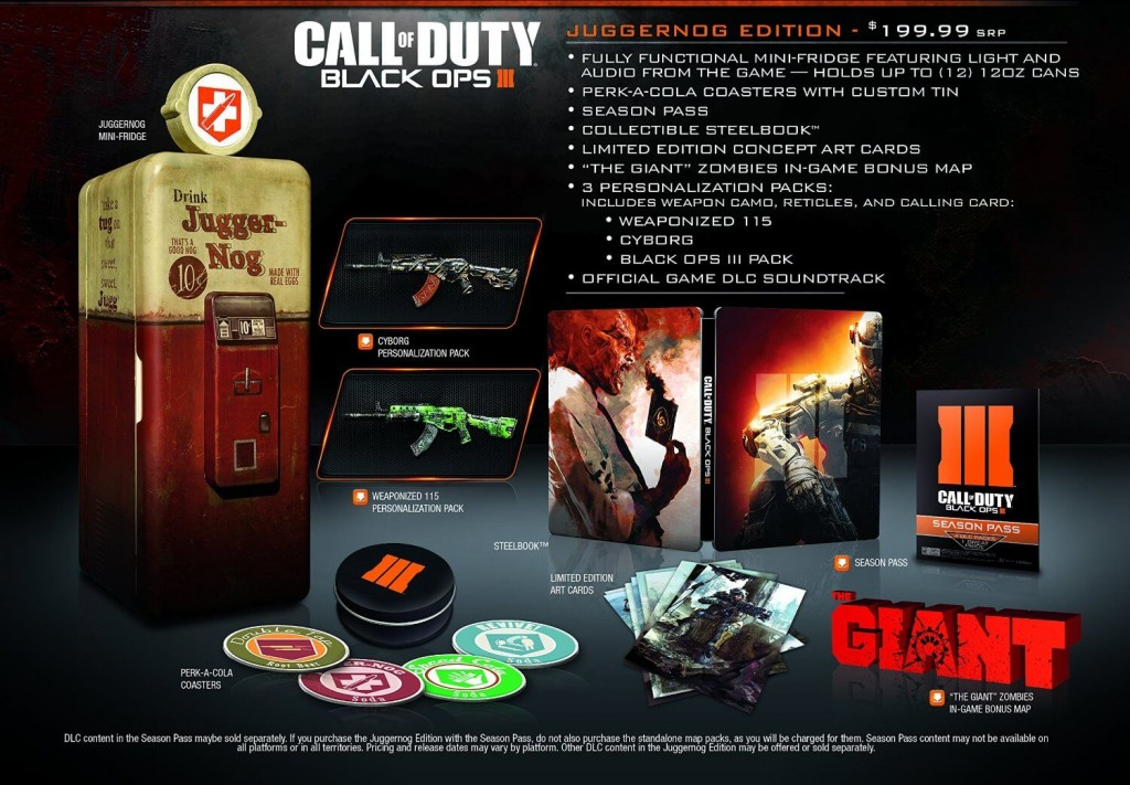 COD: Black Ops III Juggernog Collector's Edition