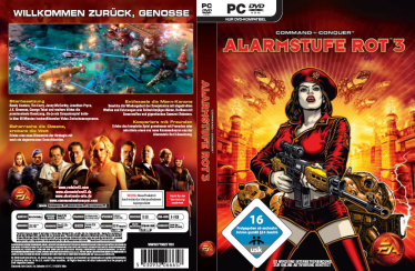 Command & Conquer Red Alert 3 PC-Cover