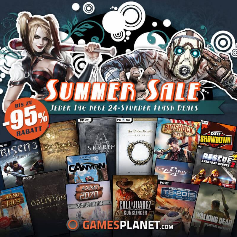Summer SALE auf Gamesplanet – Spiele Schnäppchen Tag 4