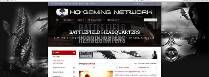 BF HQ - Battlefield HQ