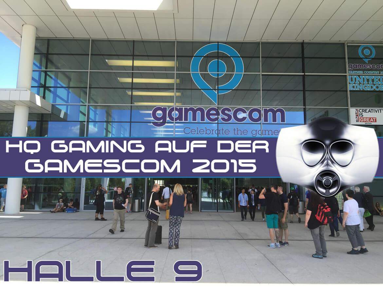 Gamescom 2015 Halle 9 Rundgang Teil 1 von 3