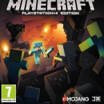 MineCraft PS4 Cover