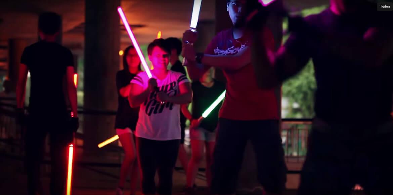 Star Wars: Erste Lichtschwert-Schule der Welt hat geöffnet