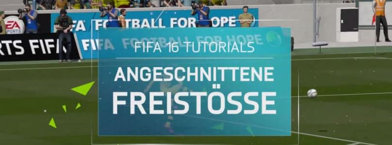 FIFA 16 Tutorial – Angeschnittene Freistöße