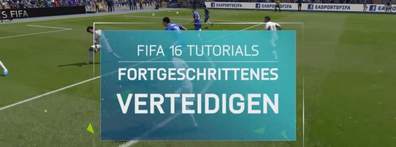 FIFA 16 Tutorial – Fortgeschrittenes Verteidigen