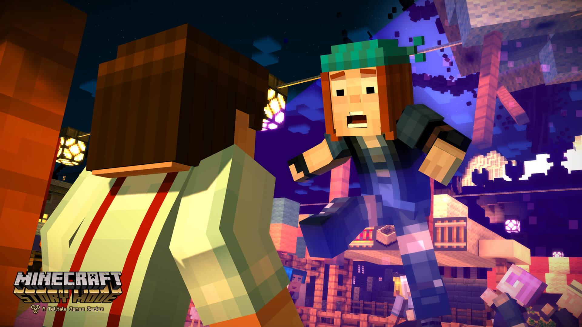 Minecraft: Story Mode – A Telltale Games Series erhältlich
