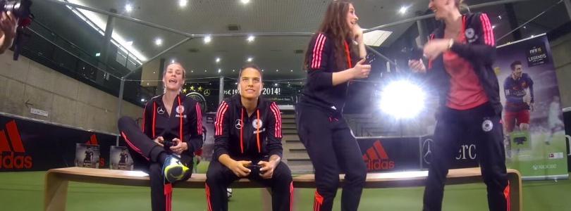 FIFA 16 – Turnier mit den Stars der Frauen-Nationalmannschaft des DFB
