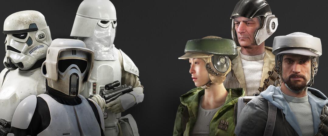 Star Wars Battlefront – beachtliche Fakten als Info Grafik