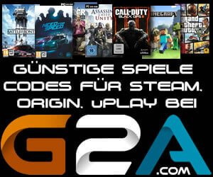 Günstige Games bei G2A