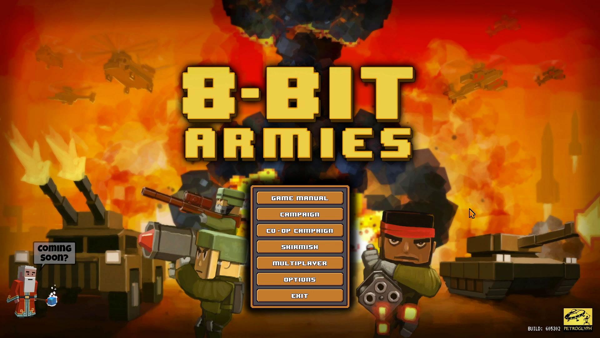8-Bit Armies – Let's Play: BETA Singleplayer Mission 1 – GREEN MAN