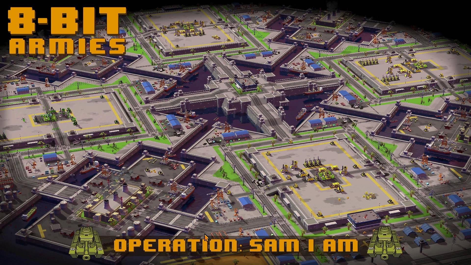8-Bit Armies – Let's Play: BETA Singleplayer Mission 6 – SAM I AM