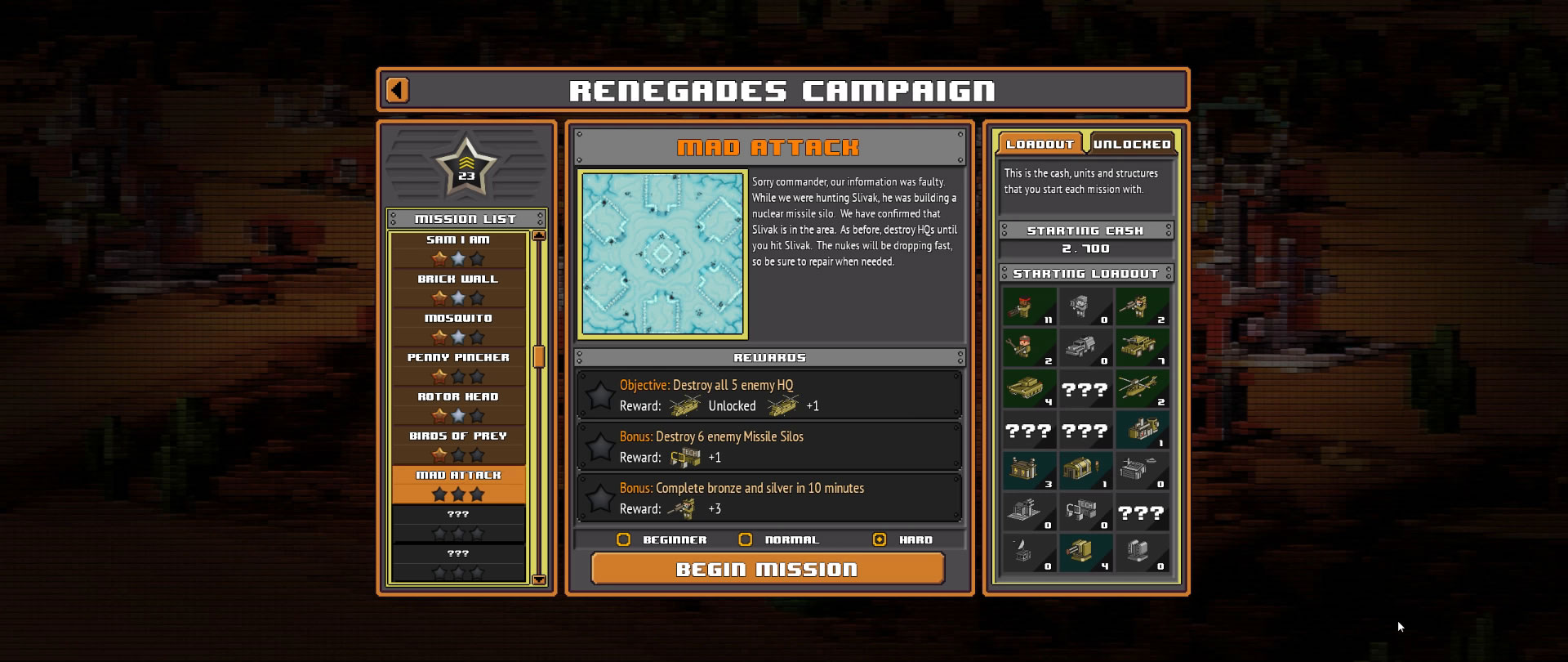 8-Bit Armies – Let's Play: BETA Singleplayer Mission 12 – MAD ATTACK
