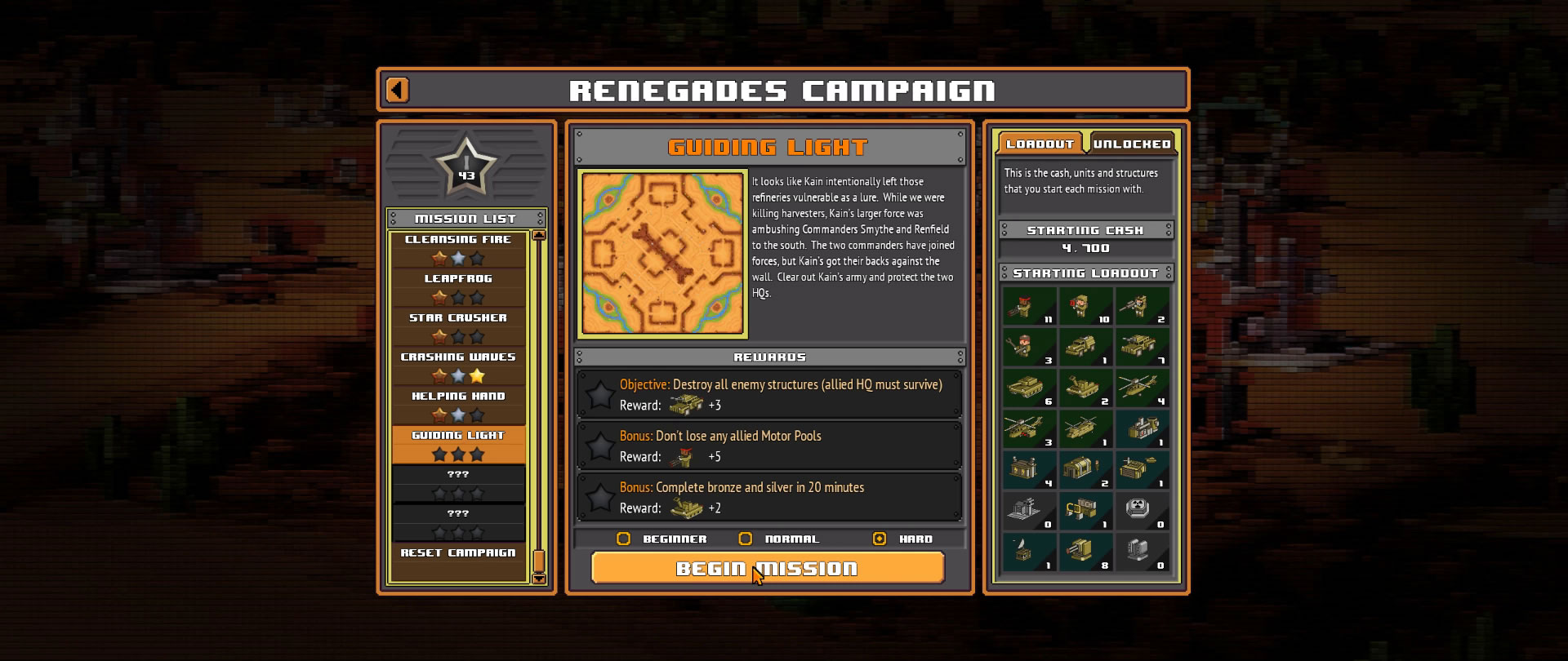 8-Bit Armies – Let's Play: BETA Singleplayer Mission 23 – GUIDING LIGHT