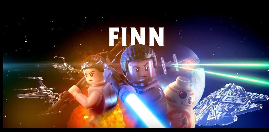 LEGO Star Wars: Das Erwachen der Macht – Charakter-Videoserie wird mit Finn fortgeführt