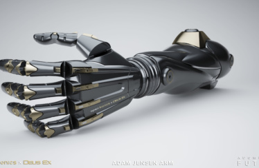 DEUS EX: Mankind Divided – Kooperation lässt Prothesen aus DEUS EX: Mankind Divided Wirklichkeit werden