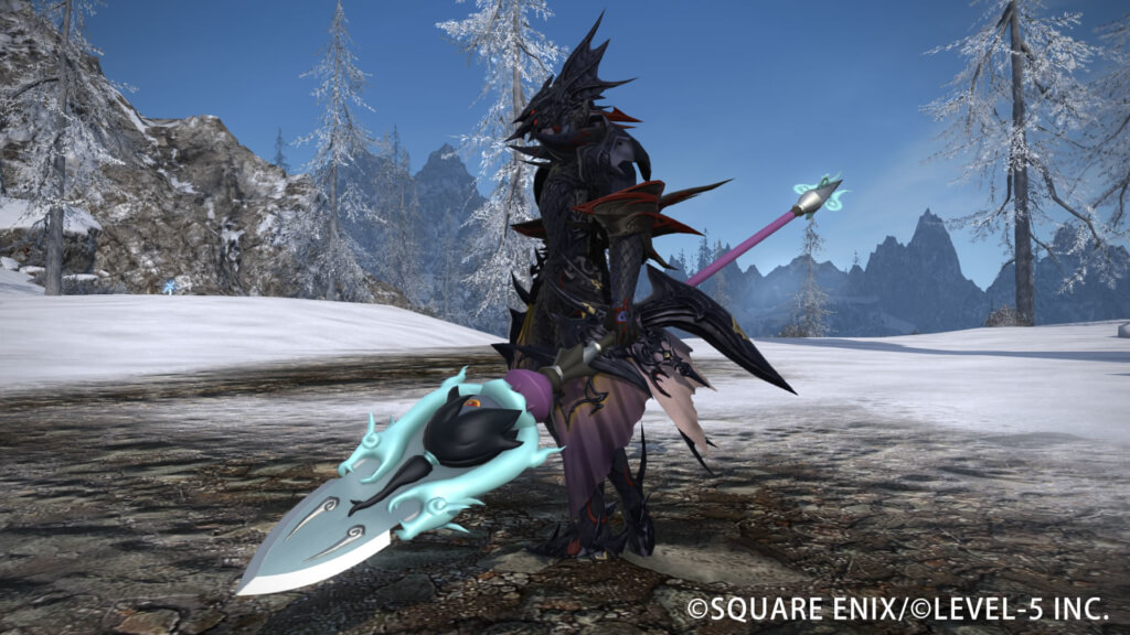 FINAL-FANTASY-XIV-Spear of the Spark Serpent