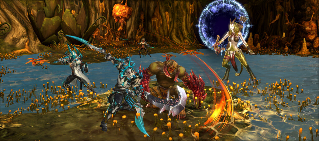 Devilian-DV_ACT_Dungeon_Glimmermire_vsPortalDefenders_Wide