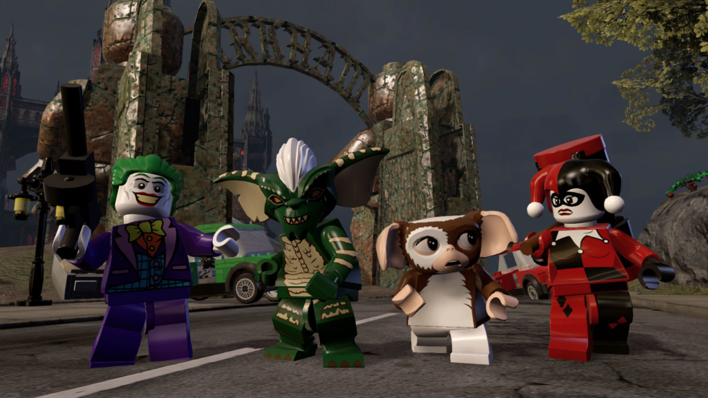 LEGO Dimensions Wave-Gremlins_Gizmo, Stripe, Joker & Harley