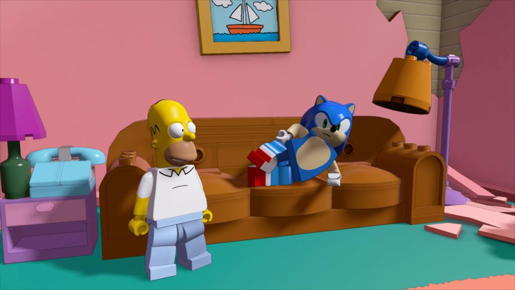LEGO Dimensions Wave-SEGA_Sonic & Homer