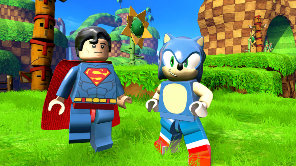 LEGO Dimensions Wave-SEGA_Sonic & Superman