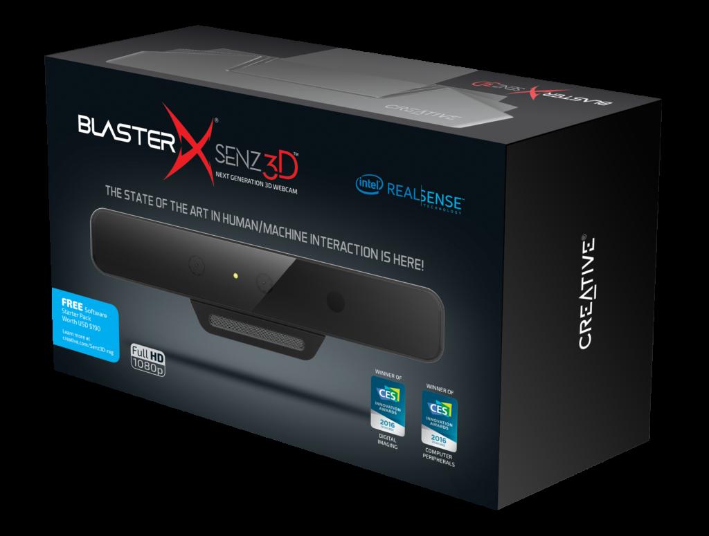 BS-BlasterX Senz3D_Box Front