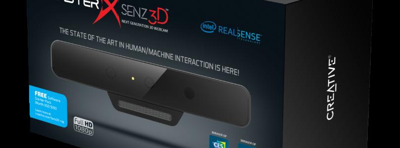 Creative Labs – Zeigt: BlasterX Senz3D-Kamera auf der gamescom 2016 und kündigt Neue Sound-BlasterX-2.1-HD-Gaming-Lautsprecher an