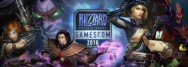 gamescom 2016 – Blizzard Entertainment enthüllt neue Inhalte auf der gamescom 2016