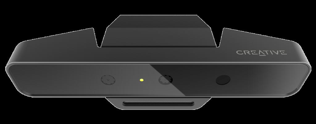 PS-BlasterX Senz3D_FR_Top_Angle