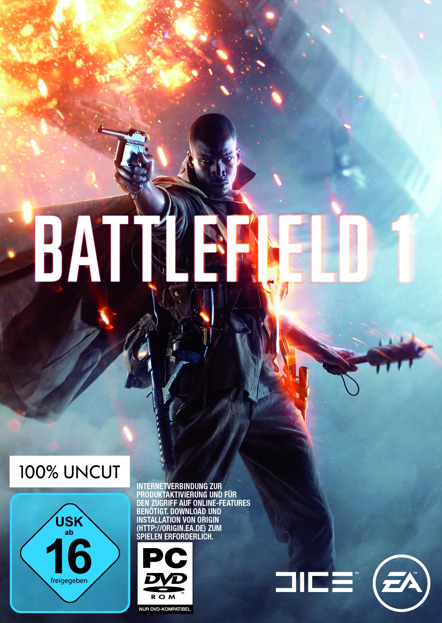 Battlefield 1 – Erhält Altersfreigabe ab 16 Jahren