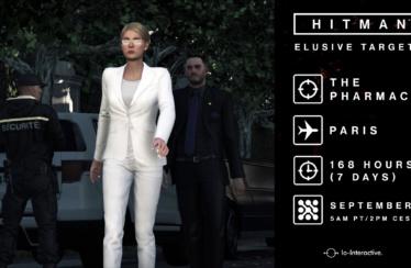 """HITMAN – Neues Elusive Target """"Die Pharmazeutin"""" ab sofort verfügbar"""