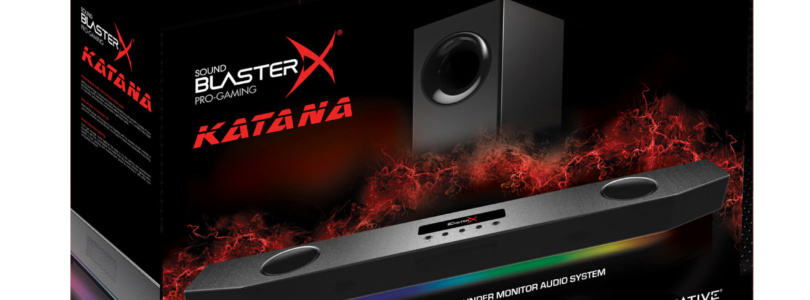 Creative Labs – Kündigt das Audiosystem Sound BlasterX Katana an