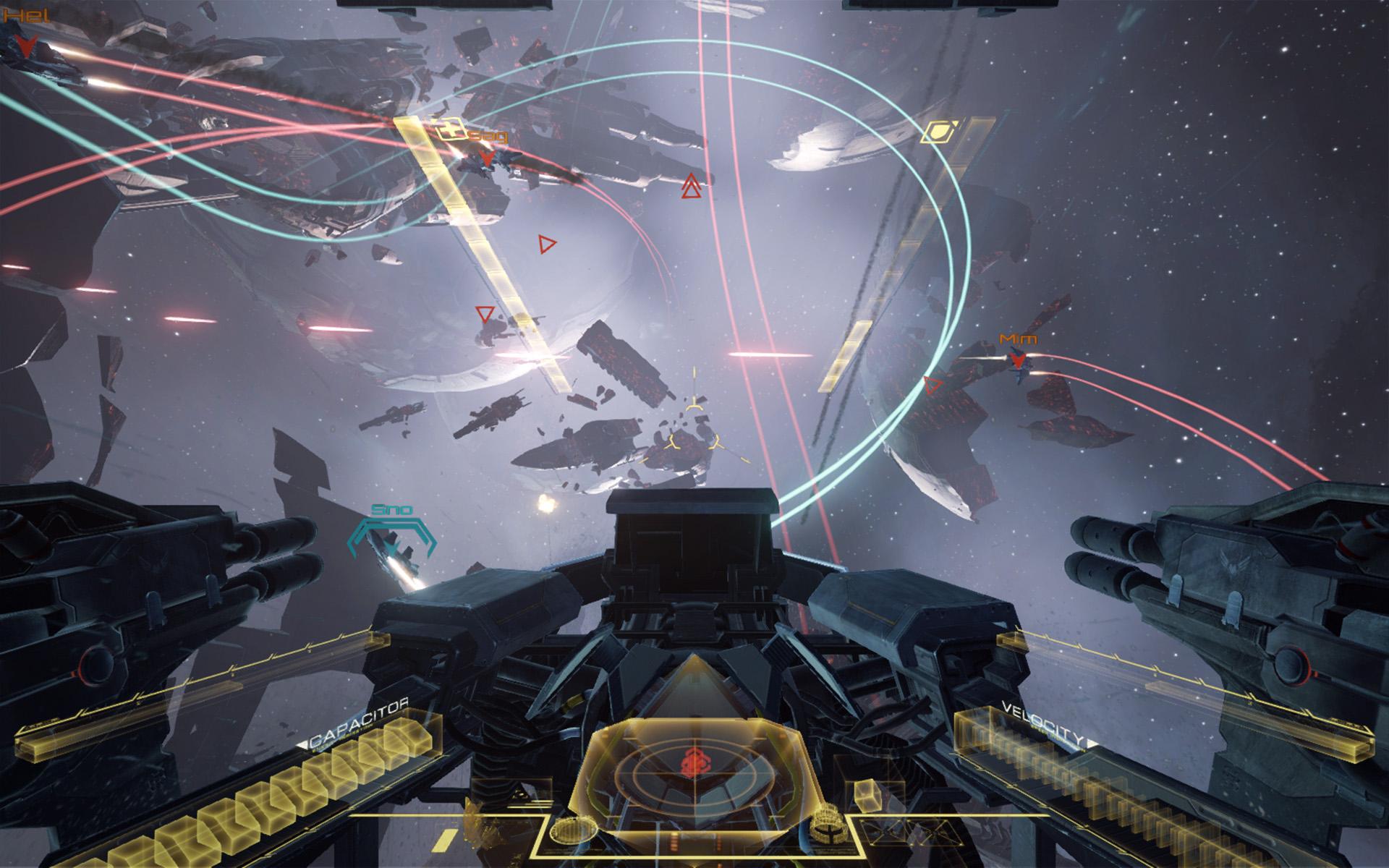 EVE: Valkyrie – Ist ab sofort für HTC Vive auf Steam erhältlich