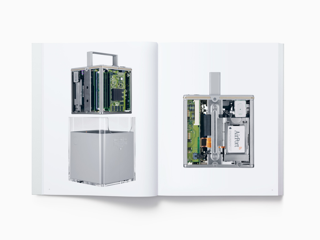 The book features 450 photographs of Apple products, from 1998's iMac to 2015's Apple Pencil.
