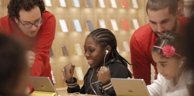 Apple – Kostenlose Hour of Code-Workshops vom 5. bis 11. Dezember in jedem Apple Store