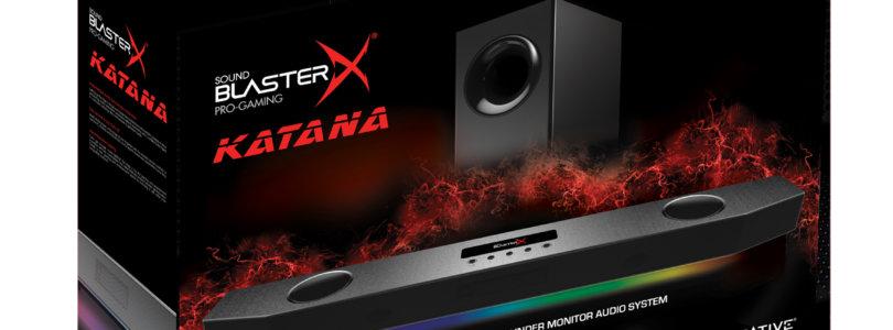 Sound BlasterX Katana – Ab sofort erhältlich