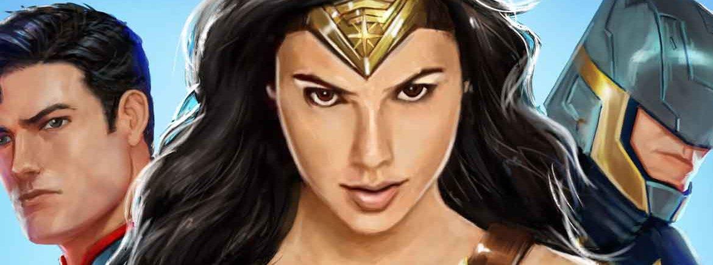DC Legends – Wonder Woman-Filminhalte jetzt in DC Legends verfügbar