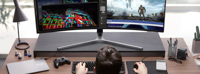 Game Changer – Samsung Electronics präsentiert erste QLED Gaming Monitore mit HDR-Technologie