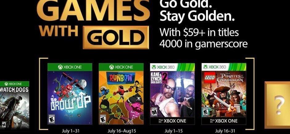 Games With Gold – Psychos, Party und Piraten: Das sind die Games With Gold im Juli
