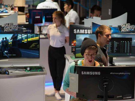 Samsung: gamescom 2017 – Bildstrecke von Europas größter Gaming Messe