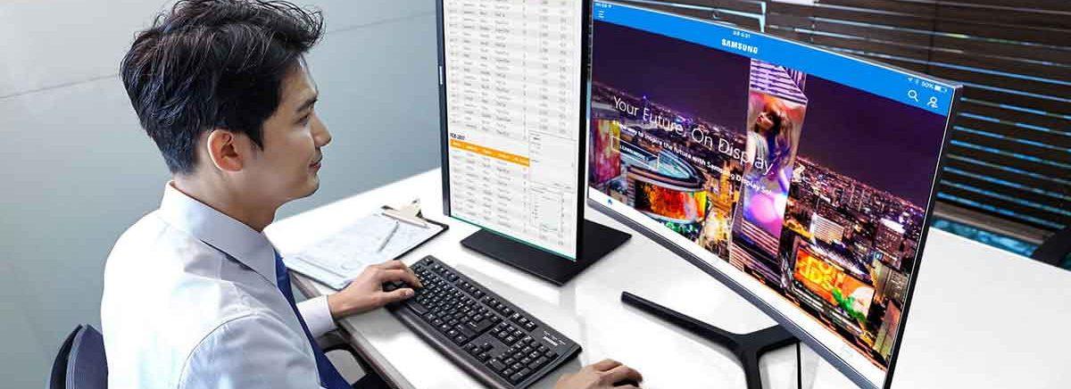Samsung – Drei neue Monitore für den modernen Arbeitsplatz