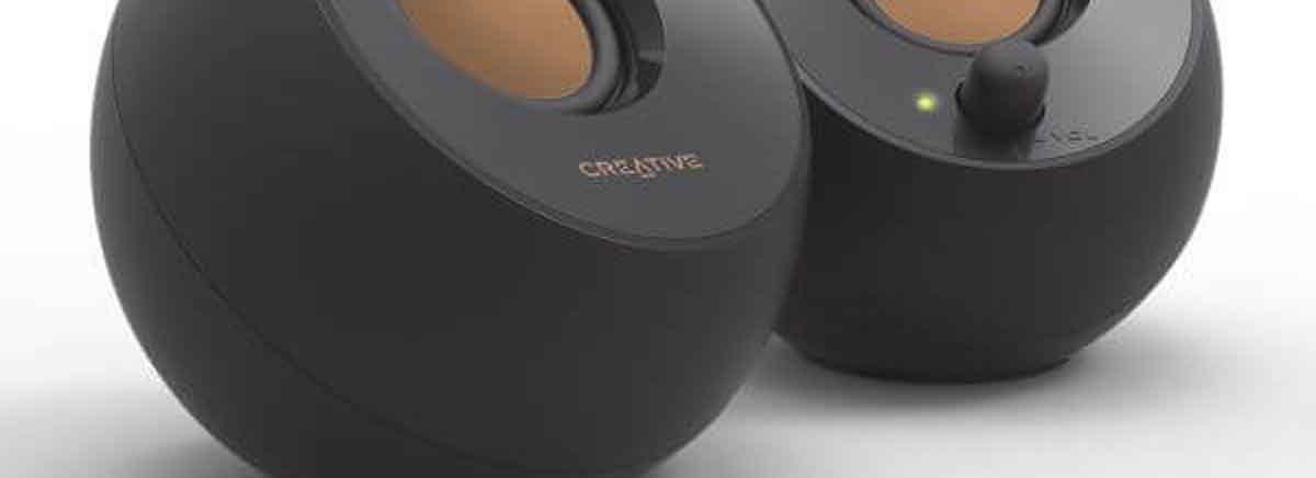 Creative Pebble – Elegante Design-Lautsprecher für den Schreibtisch jetzt erhältlich